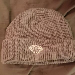 Diamond Supply Co. Grey winter beanie 10/10